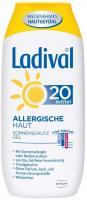 Ladival Sonnenschutz 20 Allergische Haut 200 ml Gel